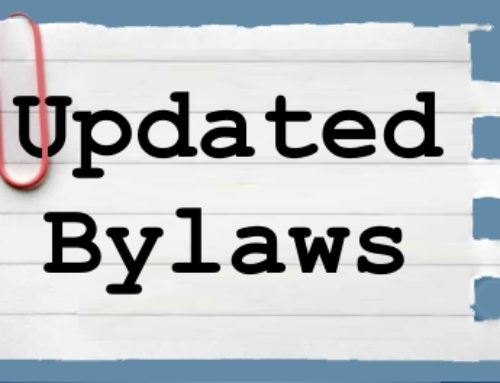 Updated Bylaws – 2018