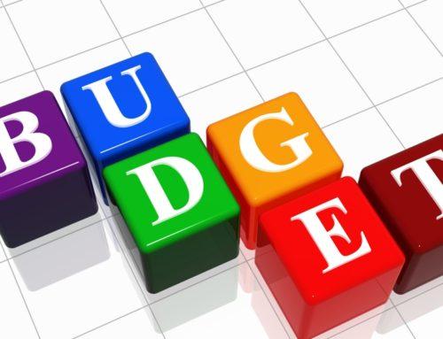 Budgets July 2019