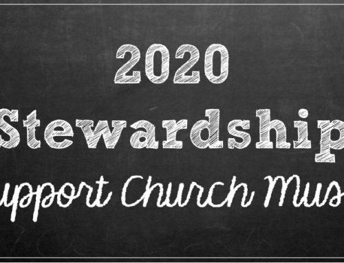 2019-2020 Stewardship
